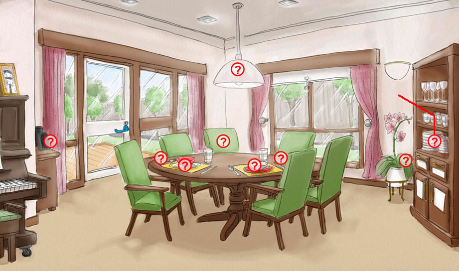 Dementia Dining Room Home Design Principles