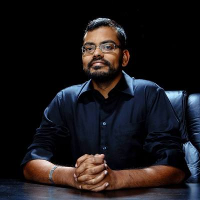 Photo of Academy Director Vijay Rajan