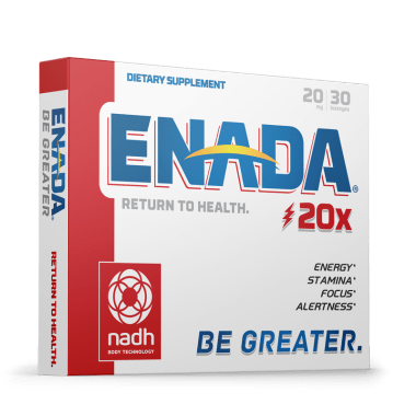 Enada 20mg for energy