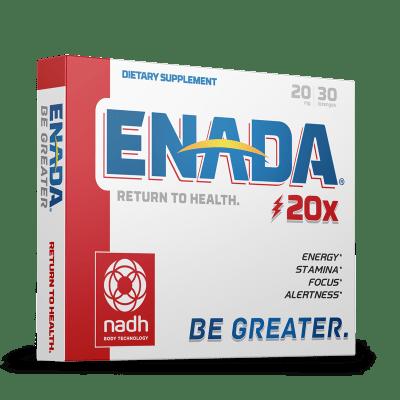 Enada 20mg for energy