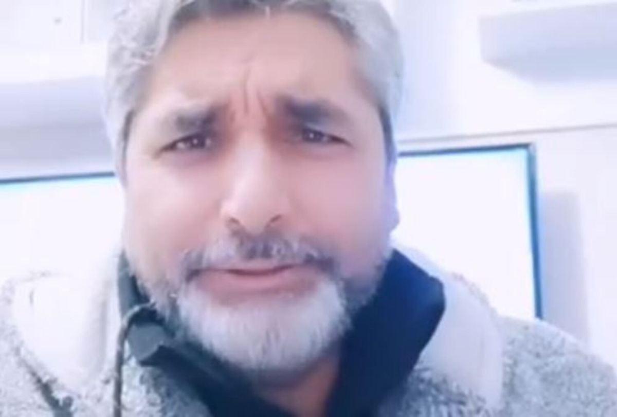 Juan José Cortés, en un vídeo subido a sus redes sociales.