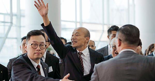 韓國瑜訪中聯辦出賣高雄? 蔡英文質疑有政治目的……