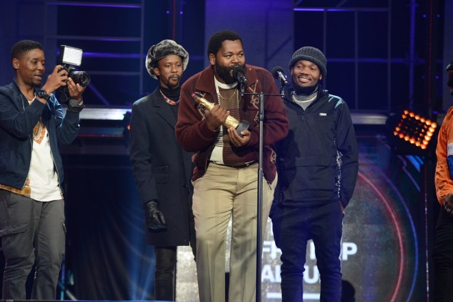 Image result for Sjava at the sama awards