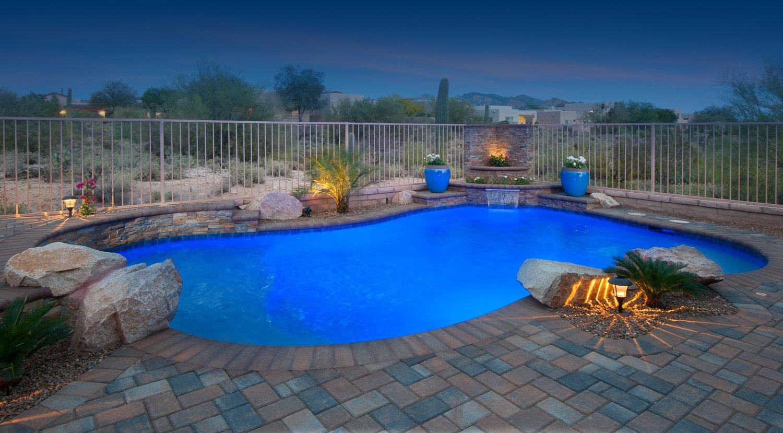 Custom pool builder tucson encantada pools for Pool design tucson