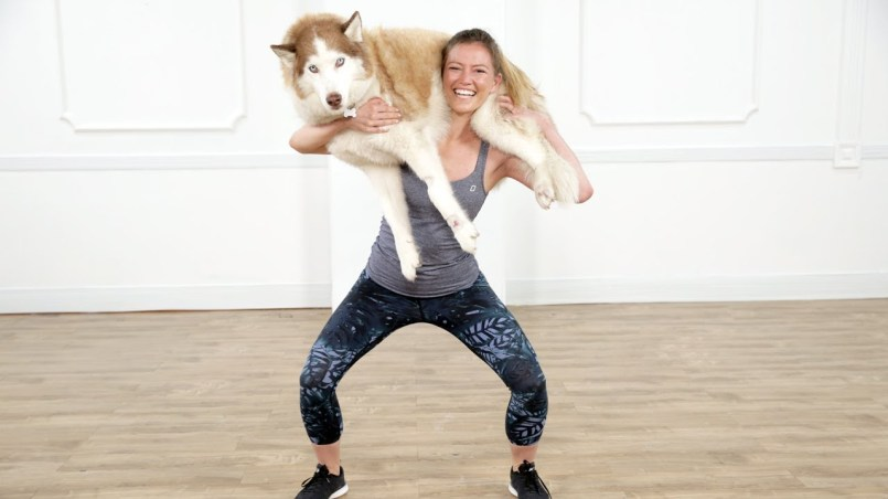 squat your dog