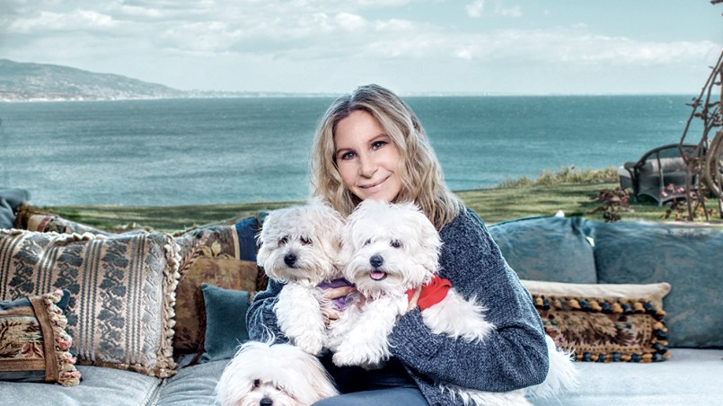 Barbra Streisand clonó a su perra dos veces