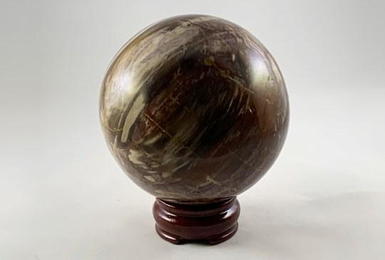 Petrified Wood Sphere