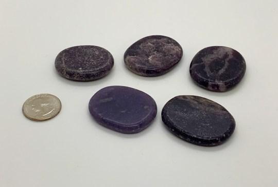 Lepidolite Medallion