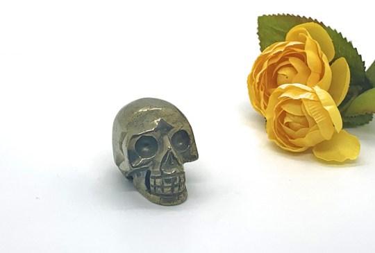 Small Pyrite Skull