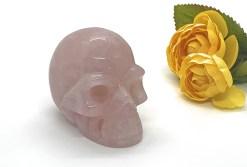 Medium Sized Rose Quartz Skull