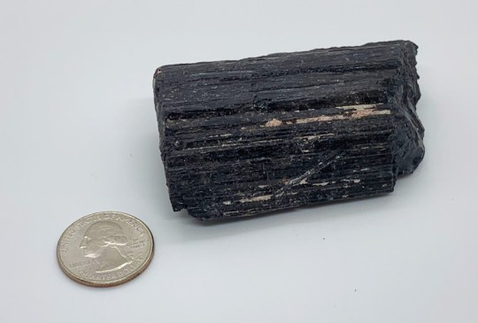 Large Rough Black Tourmaline Specimen