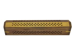 Two Tone Wooden Box Incense Burner