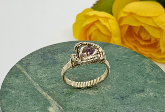 Ametrine Silver Ring
