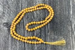 Golden Quartz Mala Prayer Beads