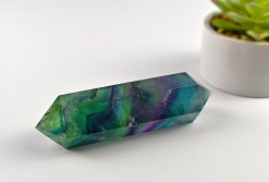 Extra Large Double Terminated Fluorite Point