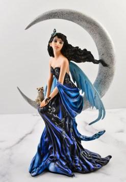 Indigo Moon Fairy Statue