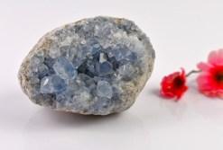Natural Blue Celestite Cluster