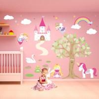 Luxury Fairy Princess Nursery Wall Stickers