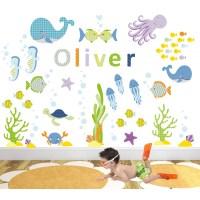 Under the Sea Nursery Wall Art Stickers