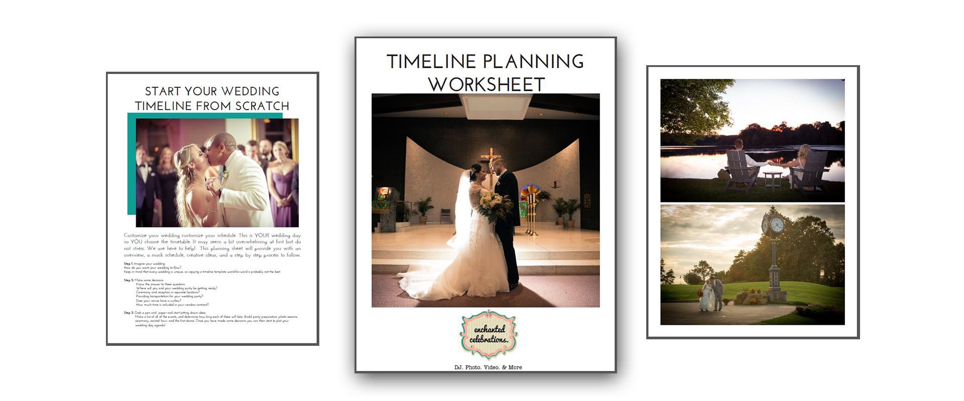 Timeline Planning Worksheet