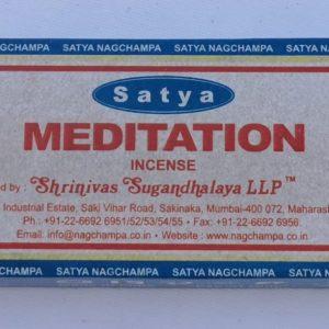 Satya Meditation Masala Incense