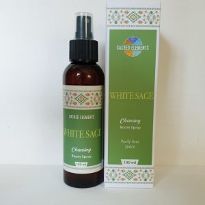 Sacred Elements- White Sage Cleansing Spray