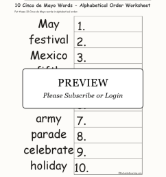 Free Cinco De Mayo Worksheets 2nd Grade   Printable Worksheets and  Activities for Teachers [ 2112 x 1632 Pixel ]