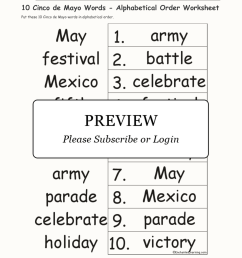 Free Cinco De Mayo Worksheets For 2nd Graders   Printable Worksheets and  Activities for Teachers [ 2112 x 1632 Pixel ]