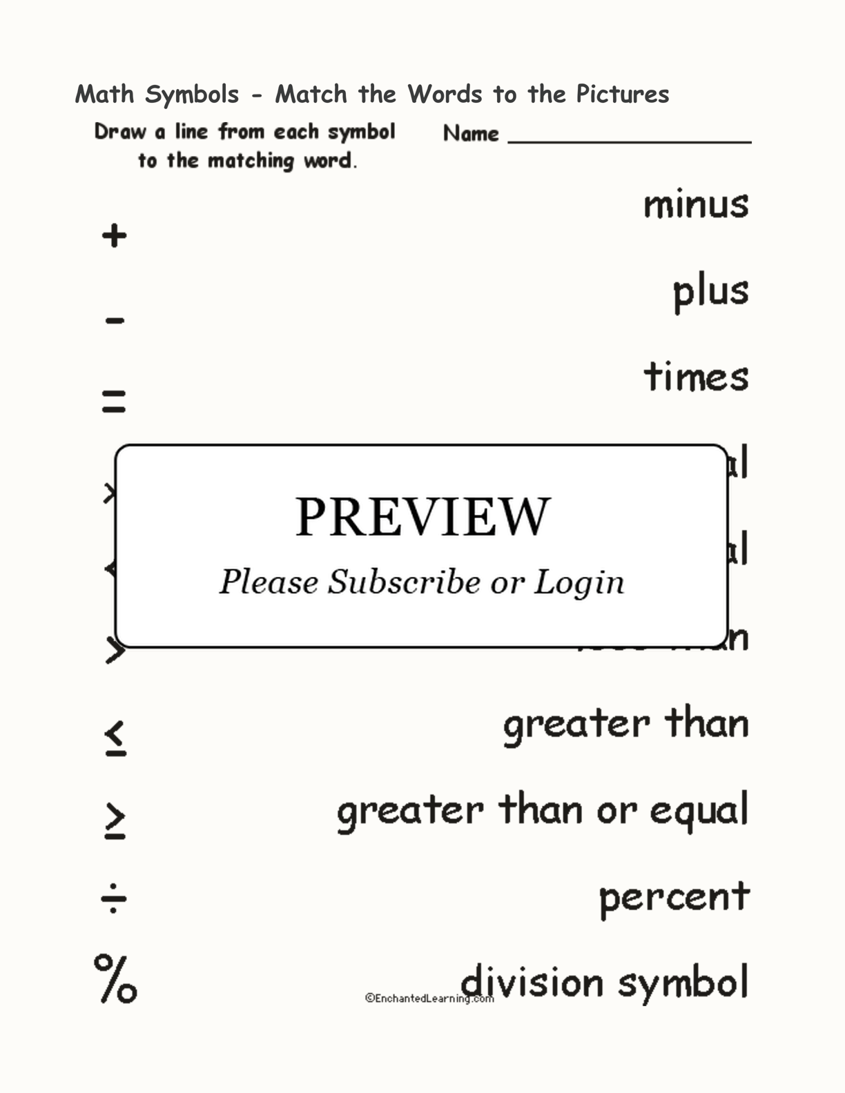 hight resolution of Symbol Search Worksheet   Printable Worksheets and Activities for Teachers
