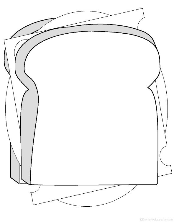 Adjectives Describing A Sandwich Printable Worksheet