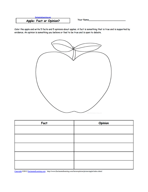 small resolution of Apples at EnchantedLearning.com