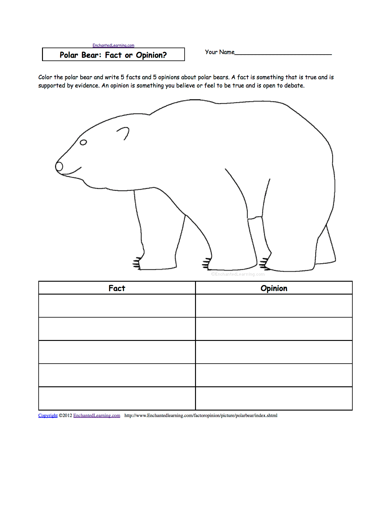 hight resolution of Animal Writing Worksheets at EnchantedLearning.com