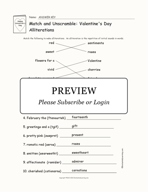 small resolution of 2nd Grade Alliteration Fill In The Blank Worksheet   Printable Worksheets  and Activities for Teachers