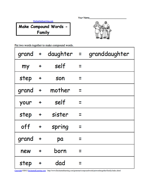 small resolution of Make Compound Words