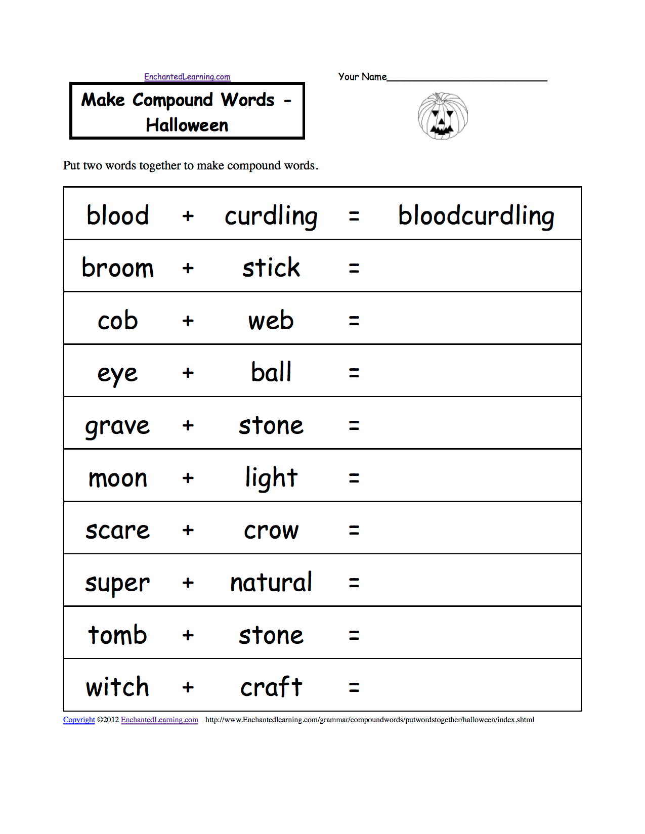 Spelling Activities 4th Grade