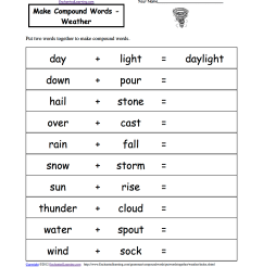 Weather-Related Spelling Activities and Worksheets at EnchantedLearning.com [ 1649 x 1275 Pixel ]