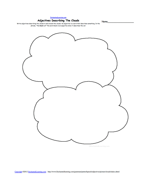 small resolution of Clouds - ENCHANTED LEARNING