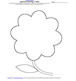 adjectives describing a flower [ 1275 x 1649 Pixel ]