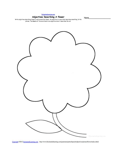 small resolution of adjectives describing a flower