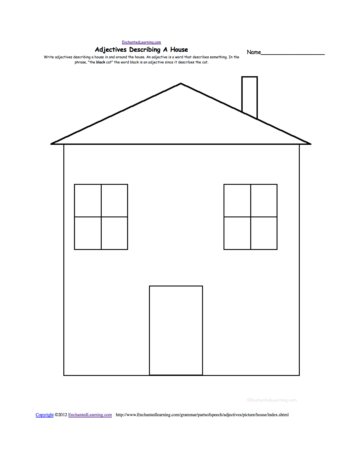 hight resolution of house