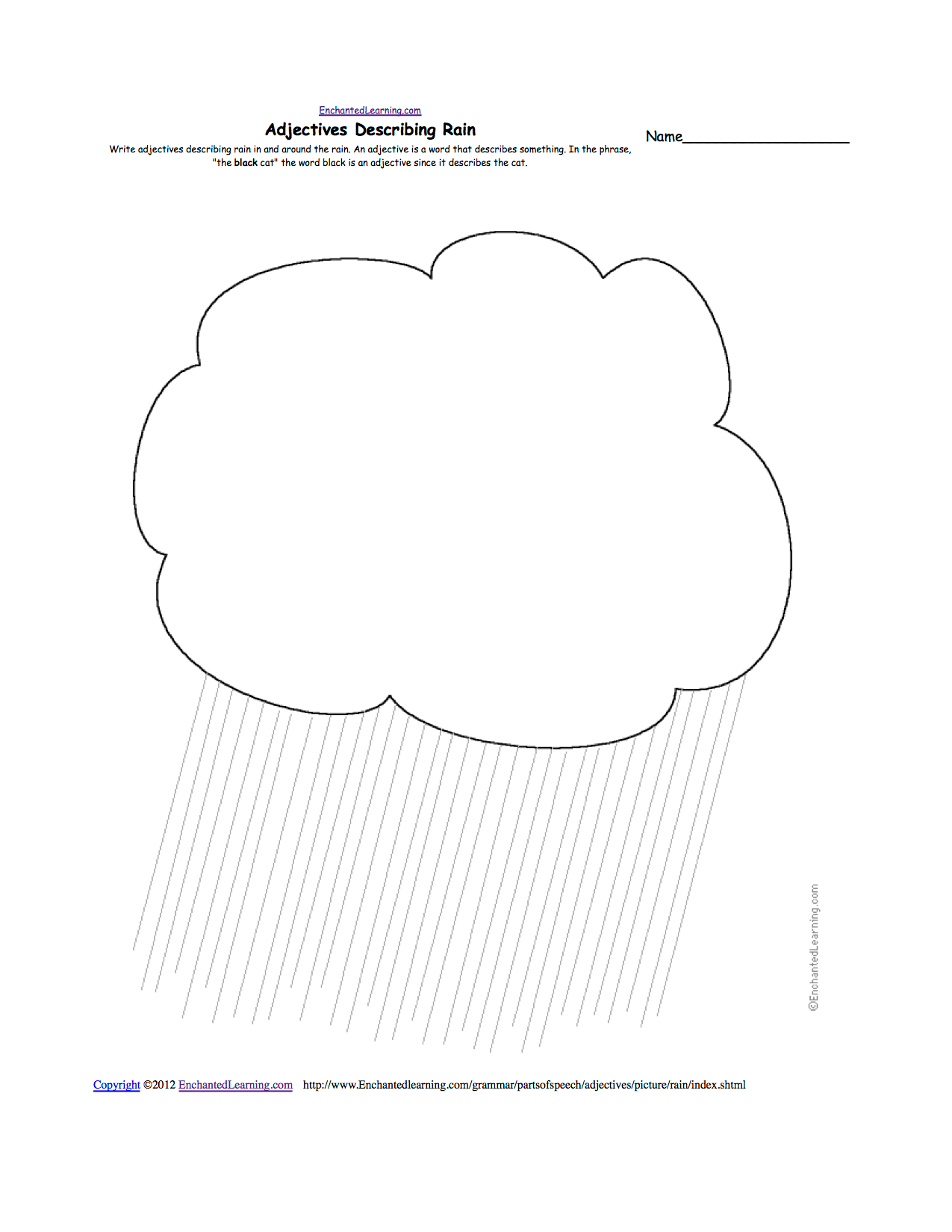 Rain Gauge Worksheet Primary Students
