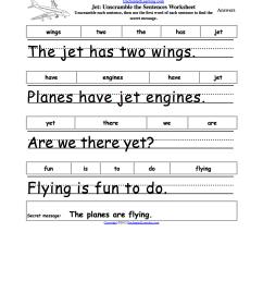 Unscramble the Sentences Worksheets - EnchantedLearning.com [ 1649 x 1275 Pixel ]