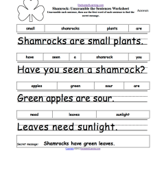 St. Patrick's Day Crafts for Kids - Enchanted Learning Software [ 1649 x 1275 Pixel ]