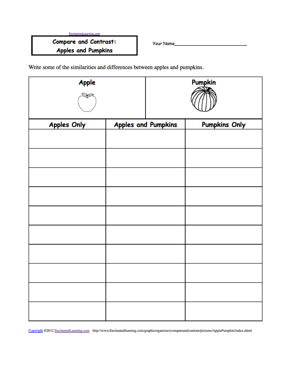 medium resolution of Halloween Activities: Writing Worksheets - EnchantedLearning.com