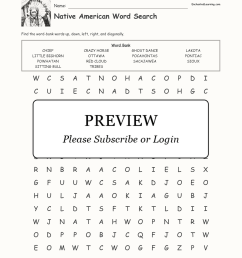 Native American Word Search - Enchanted Learning [ 2112 x 1632 Pixel ]