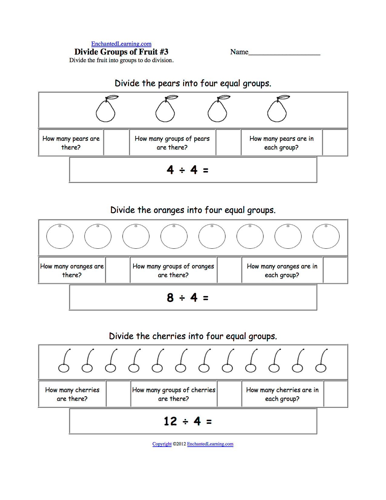 Worksheet Division By 3 Worksheets Worksheet Fun Worksheet Study Site