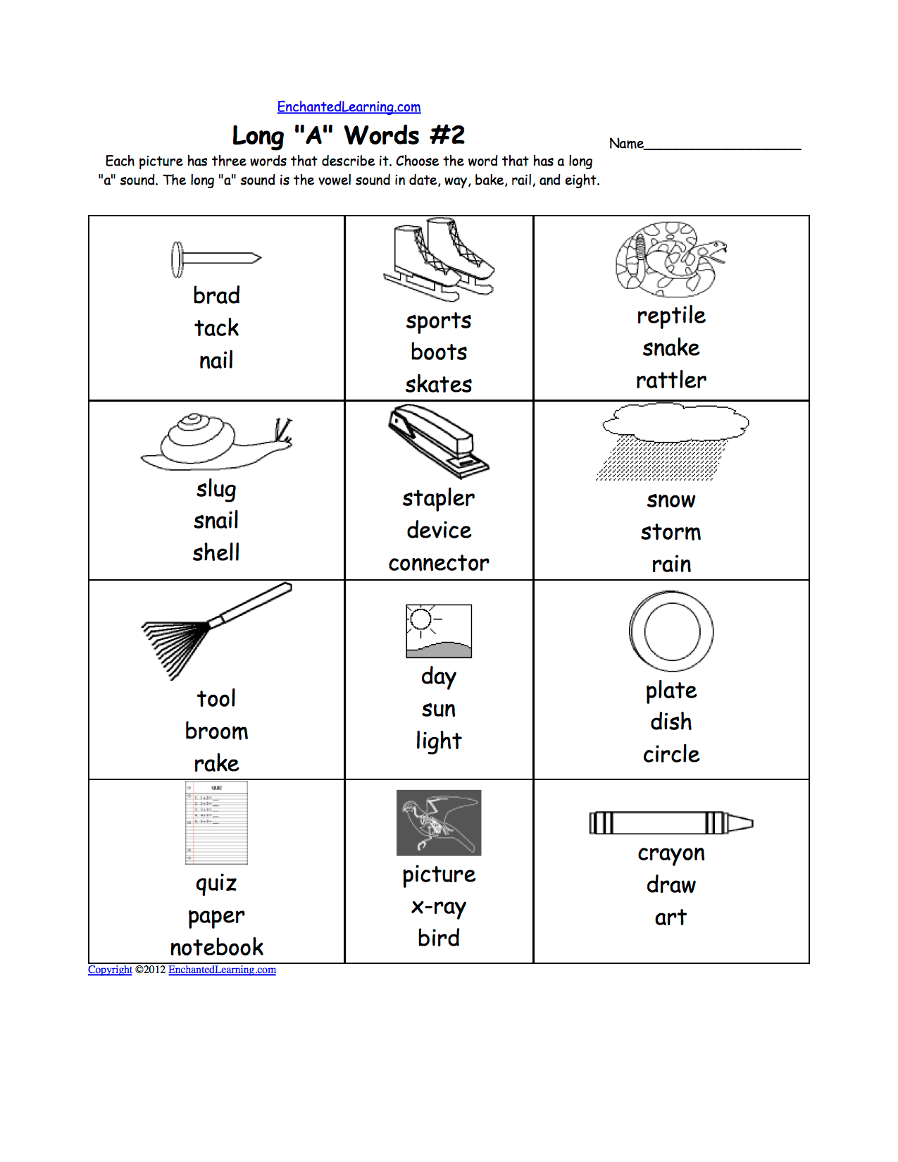Words With Ae Vowel Sound