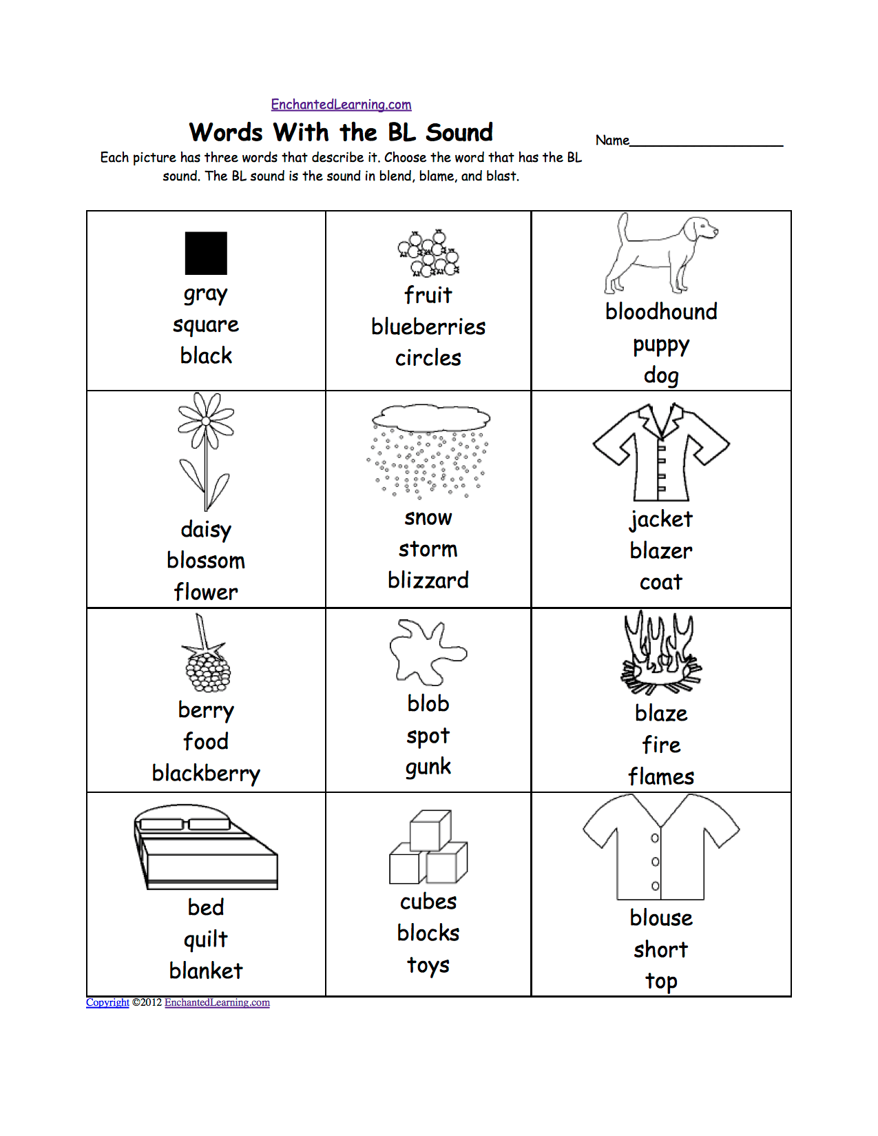 Phonics Worksheet Ea Sound