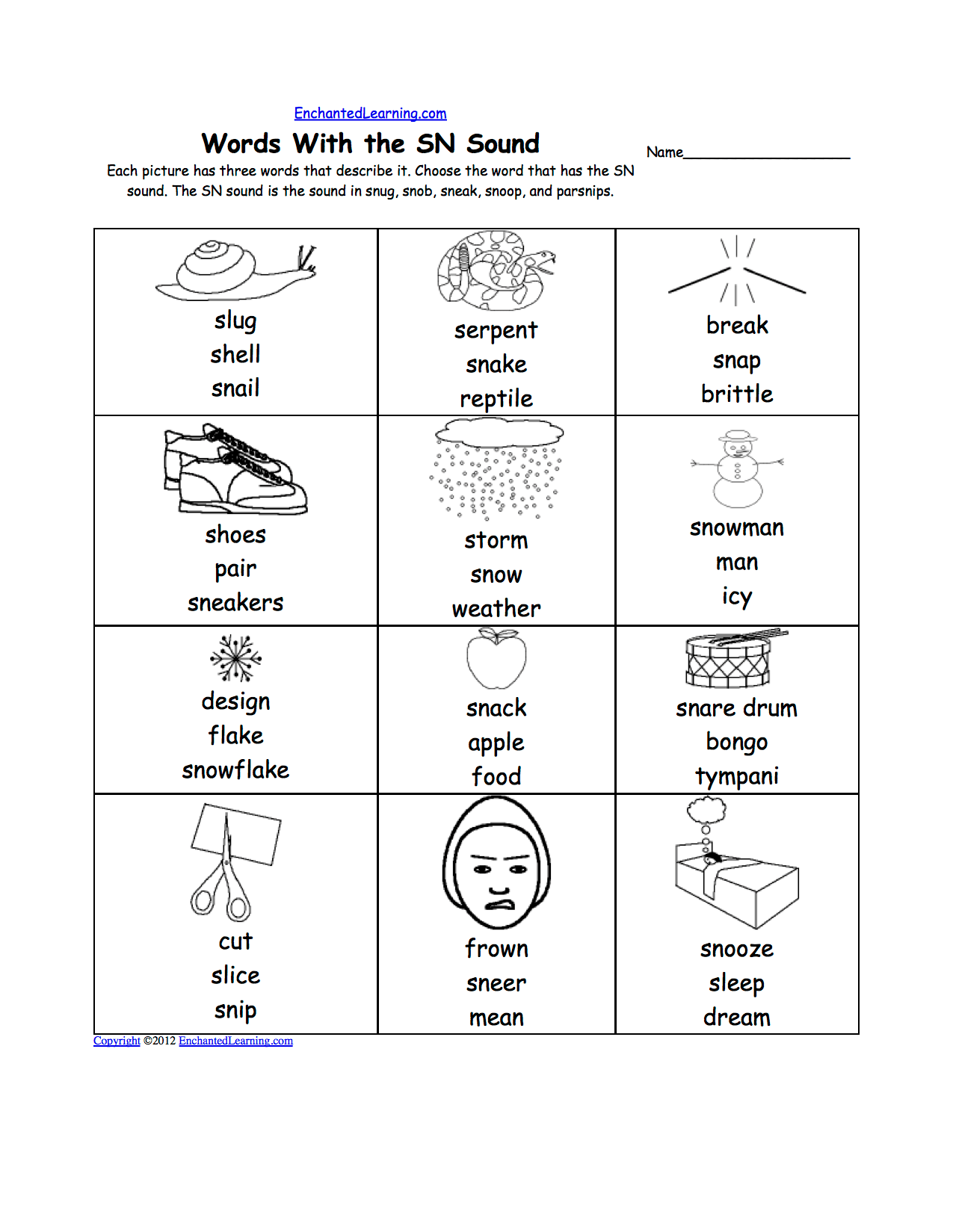 Third Grade Phonics Worksheets Free