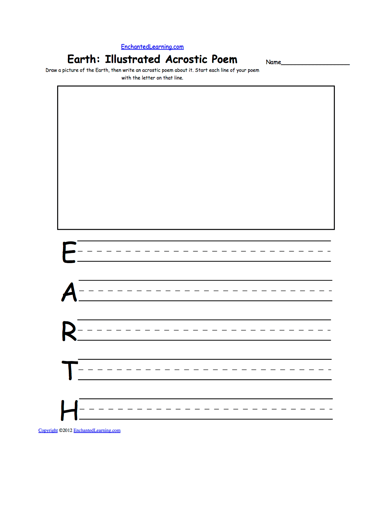 Earth Day Crafts Enchantedlearning
